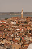 Aerial view of Venice city Royalty Free Stock Photos