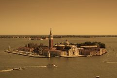 Aerial view of Venice city Stock Image