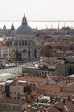 Aerial view of Venice city Stock Photo