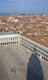 Aerial view of Venice Royalty Free Stock Photography