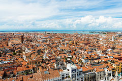 Aerial view of Venice. Royalty Free Stock Photos
