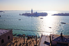 Aerial view of Venice Stock Images