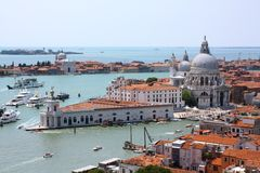 Aerial view of Venice, Italy Stock Images