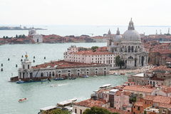 An aerial view of Venice - Italy Stock Photo