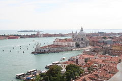 An aerial view of Venice - Italy Stock Photography
