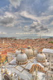 Aerial view of Venice Italy Royalty Free Stock Photo