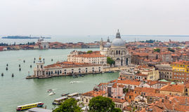 Aerial view of Venice, Italy Royalty Free Stock Photos