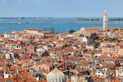 Aerial view of Venice, Italy Royalty Free Stock Images