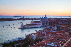 Aerial view of Venice, Italy Royalty Free Stock Photography