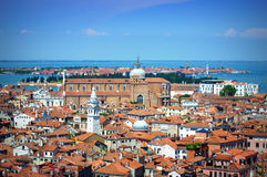 Aerial view Venice Italy Stock Photos