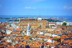 Aerial view Venice Italy Royalty Free Stock Image