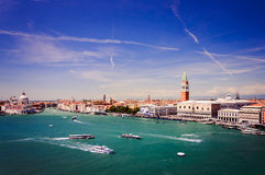 Aerial view of Venice, Italy Stock Photos