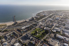 Aerial View of Ventura California Royalty Free Stock Image