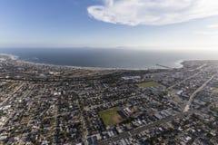 Aerial View of Ventura California Royalty Free Stock Image