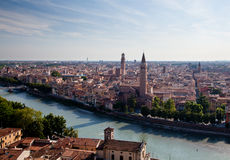 Aerial view of Verona Royalty Free Stock Photo