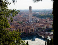 Aerial view of Verona Stock Photos