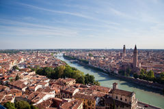Aerial view of Verona Royalty Free Stock Images