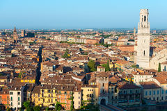 Aerial View of Verona - Veneto Italy Royalty Free Stock Photos