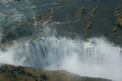 Aerial view Victoria Falls Stock Photo