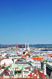 Aerial view of Vienna Royalty Free Stock Photos