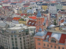 Aerial view of Vienna city Royalty Free Stock Photography