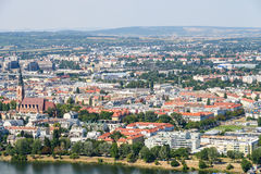 Aerial View Of Vienna City Stock Images