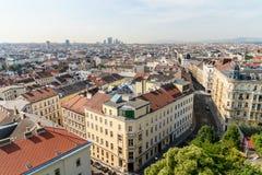 Aerial View Of Vienna Skyline Royalty Free Stock Photo