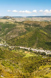 Aerial view of village in France Stock Photos