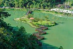 Aerial view of wanglongbi in Yilan, Taiwan Royalty Free Stock Photo
