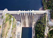 Warragamba dam Royalty Free Stock Photo