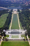Aerial View from Washington Monument Royalty Free Stock Photos