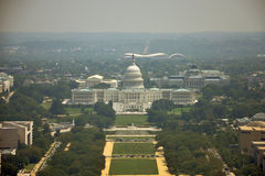 Aerial View from Washington Monument Royalty Free Stock Image