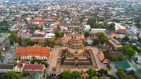 Chiang mai aerial view Stock Images
