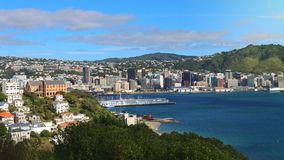 Aerial view of Wellington Royalty Free Stock Photo
