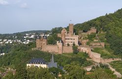 Aerial view of Wertheim Castle Royalty Free Stock Image