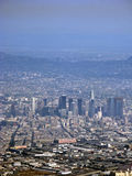 Aerial View West Los Angeles Royalty Free Stock Images