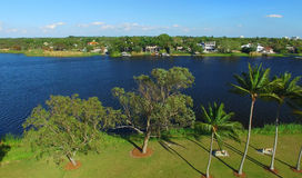 Aerial view of West Palm Beach, Florida Stock Image