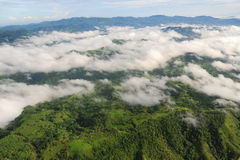 Aerial view of western Costa Rica Stock Photo
