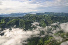 Aerial view of western Costa Rica Stock Photos