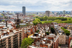 Aerial View from Westminster Cathedral Stock Photos