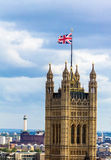 Aerial view of Westminster, London. Stock Images