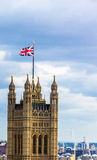 Aerial view of Westminster, London. Stock Photography