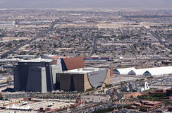 Aerial View of the World Market Center, Las Vegas Royalty Free Stock Images