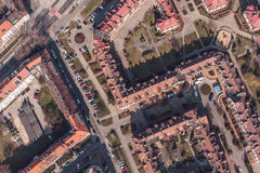 Aerial view of wroclaw city in Poland Stock Photo