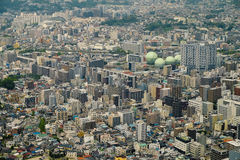 Aerial view of yokohama city, Japan Royalty Free Stock Images