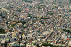Aerial view of yokohama city, Japan Royalty Free Stock Photography