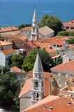Aerial view of Zadar, Croatia Stock Image