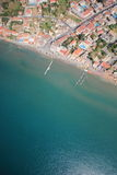 Aerial view on Zakynthos island Royalty Free Stock Photo
