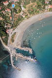 Aerial view on Zakynthos island Stock Images