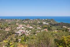 Aerial view of Zakynthos Island Royalty Free Stock Image